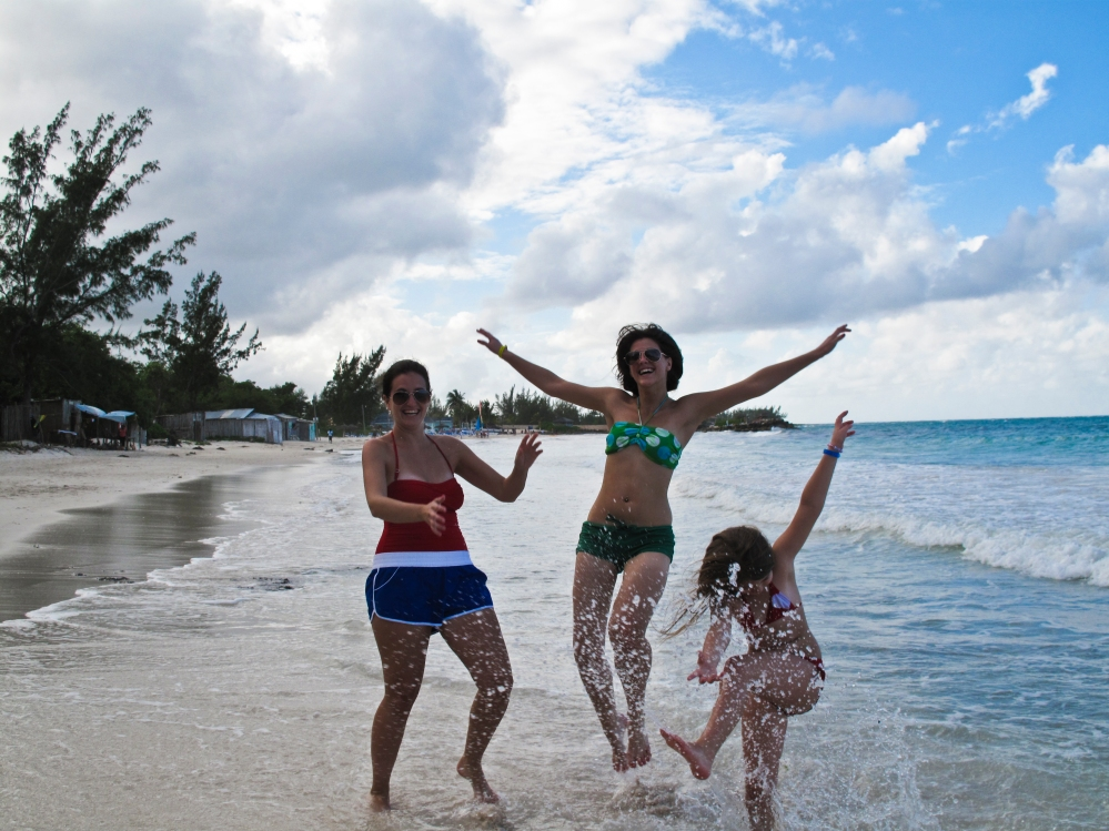 Beach fun in Jamaica