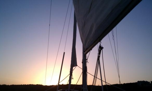 Sailing in New Brunswick