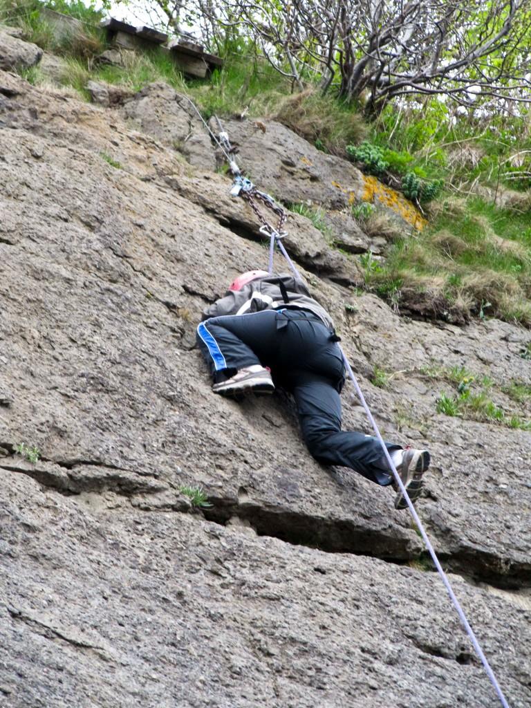 rock climbing, New Burnswick