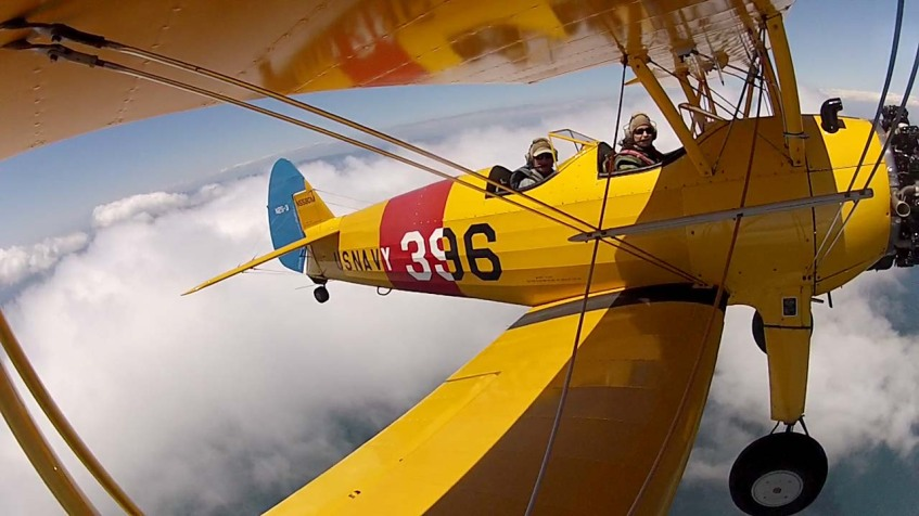 Biplane Fun, California