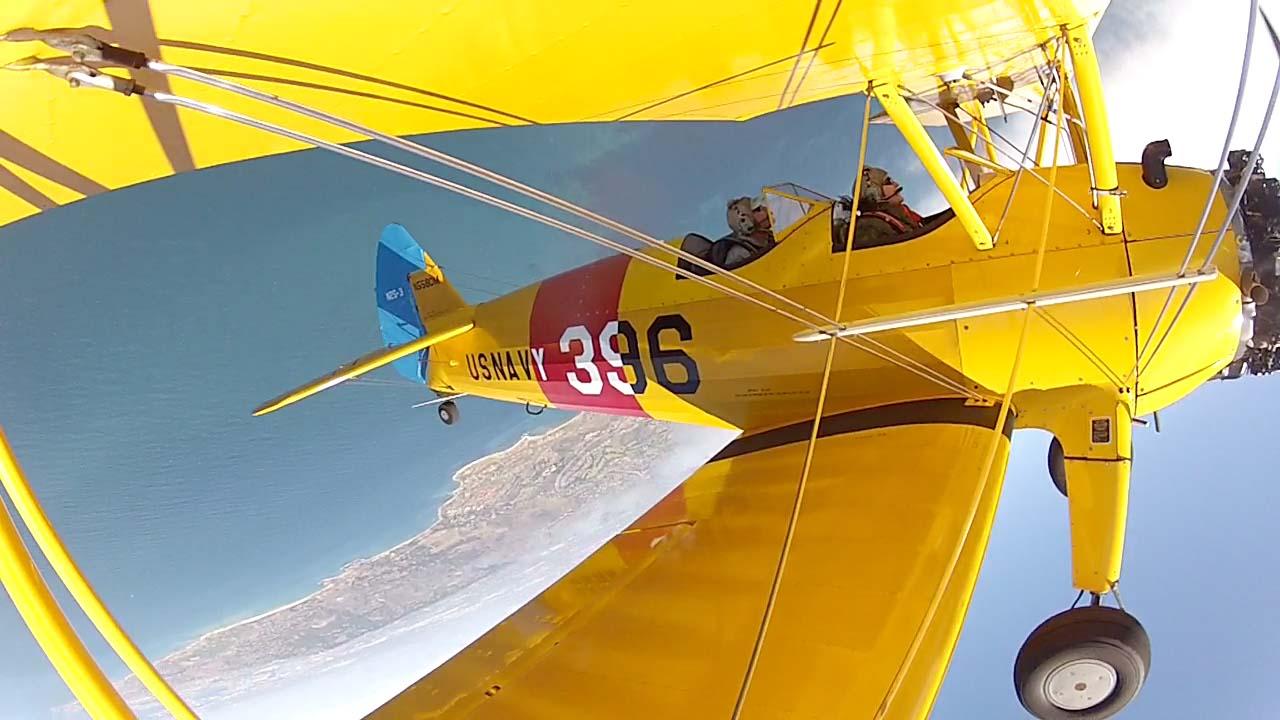 Upside down with Biplane Fun