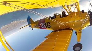 biplane flight adventure California