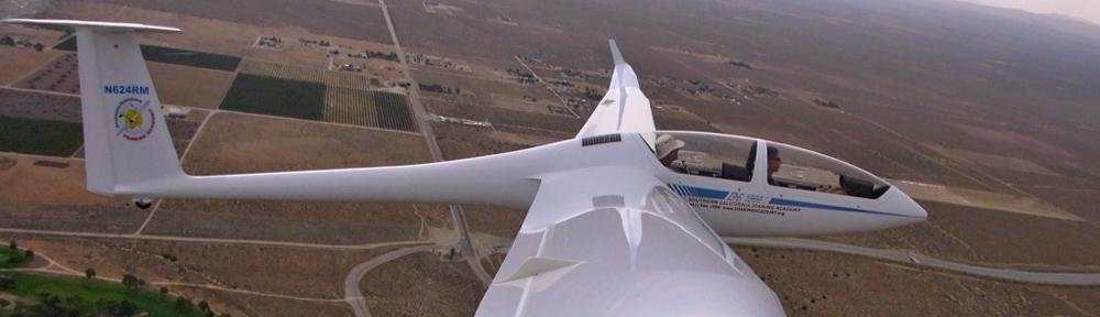 Bucket list glider flight adventure California