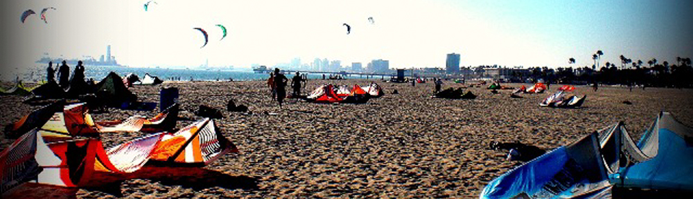Kiteboarding California