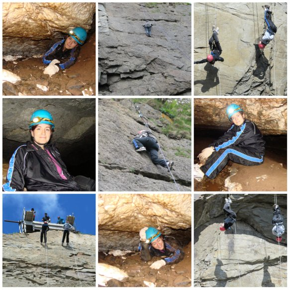Rock Climbing Rappelling Caving
