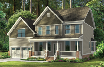 Preston Craftsman Elevation Orleans Homes