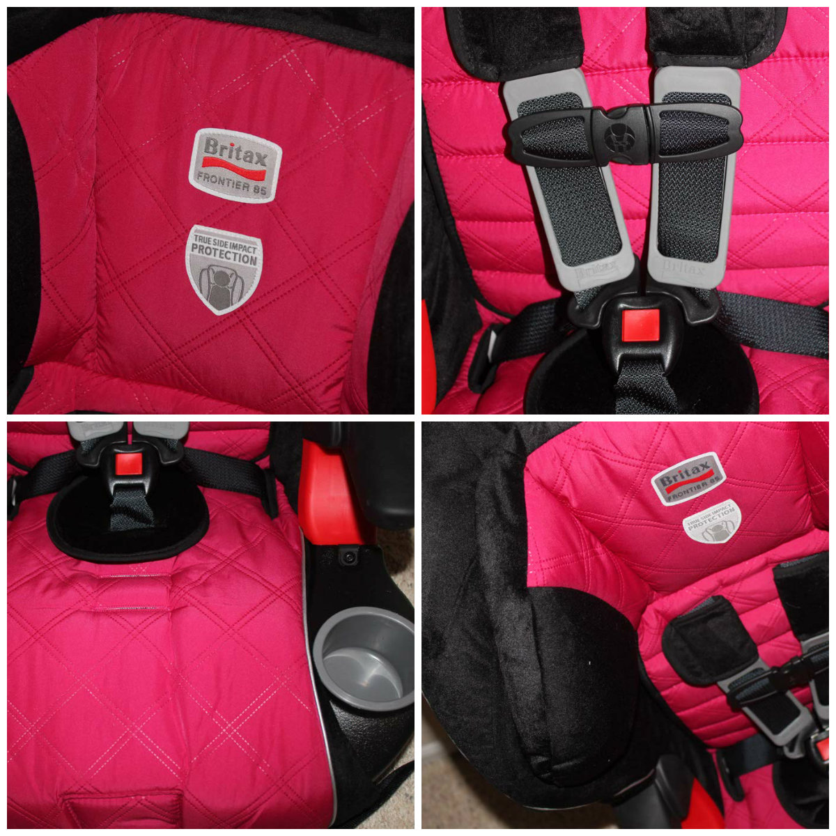 Forefront In Safety Frontier 85 Car Seat