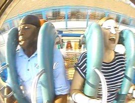 Lesley screaming = pure joy