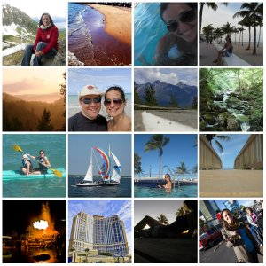 Collage Travel