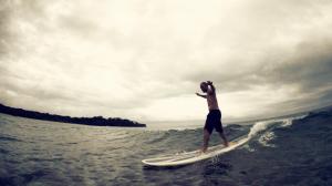 Surfing Fiji