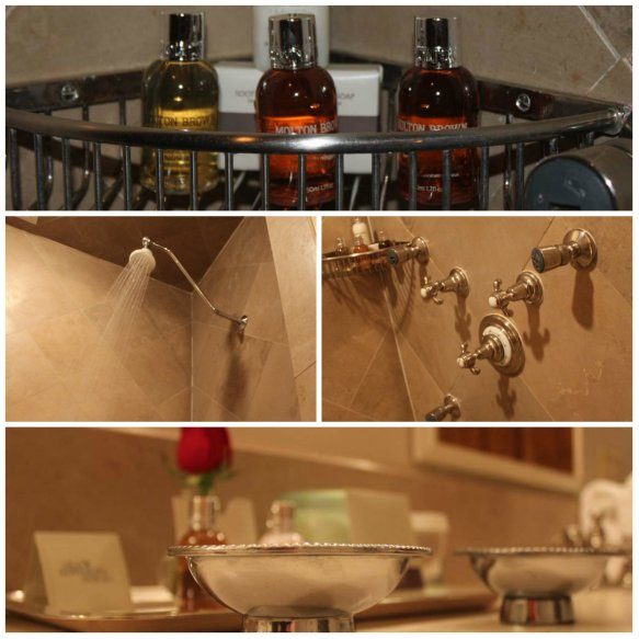 Old Edwards Inn Shower Collage