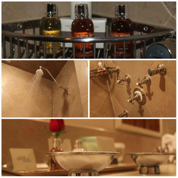 Old Edwards Inn Shower Collage