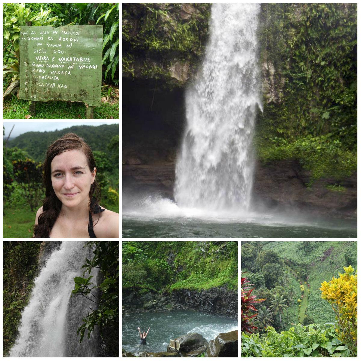 Garden Island Waterfalls, Fiji