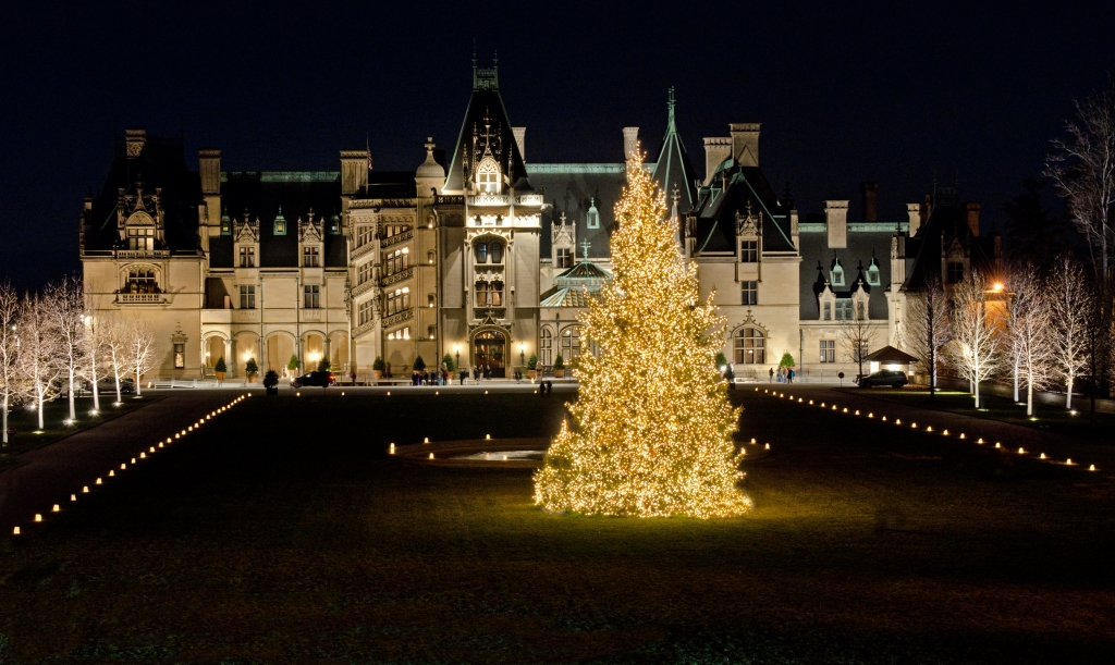 Biltmore At Christmas.Home For The Holidays Biltmore Estate Asheville Nc