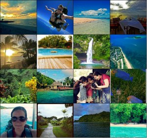 Fiji Collage