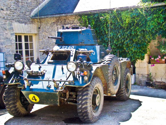Army Tank in France