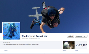 The Extreme Bucket Lis