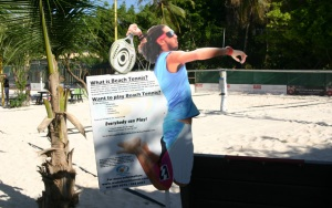 Aruba Beach Tennis