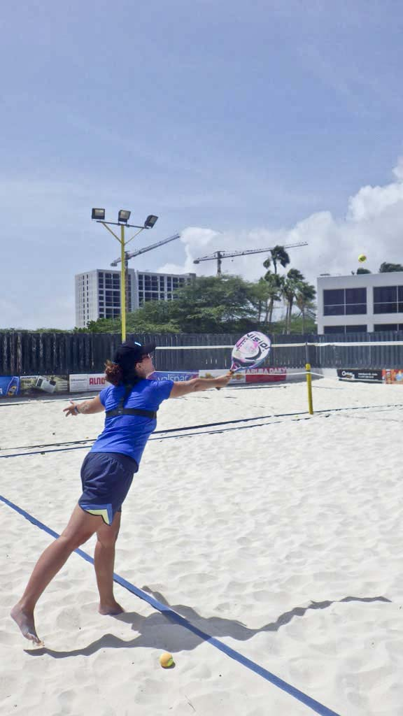 Aruba Beach Tennis