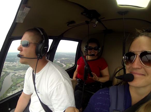 Helicopter Flight over Ottawa