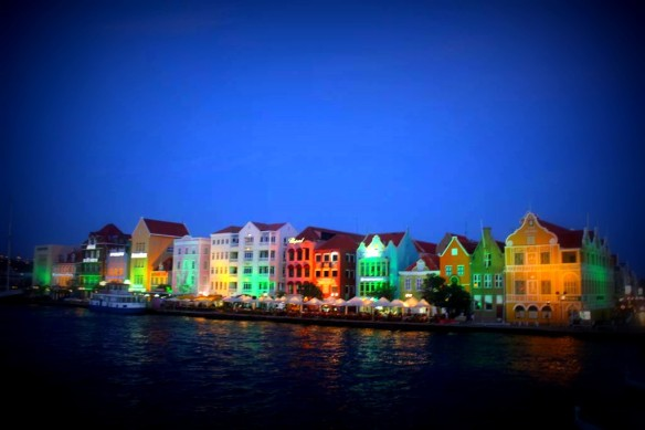 Curacao Downtown Night
