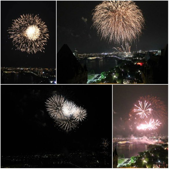 ont Chateau Laurier Fireworks