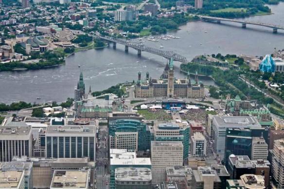 Parliament Hill, Ottawa Canada Day