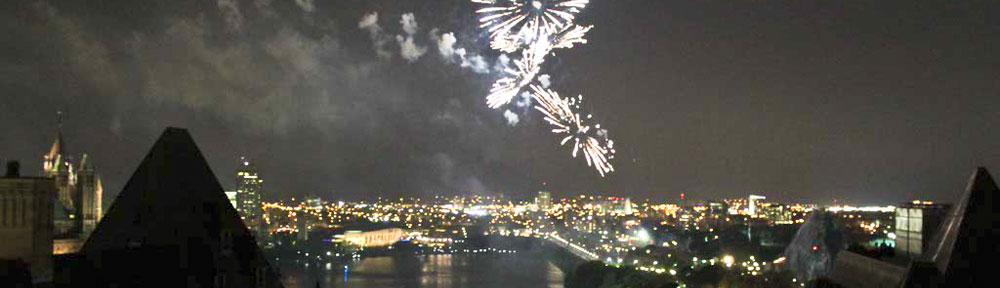 Canada Day Fireworks, Ottawa