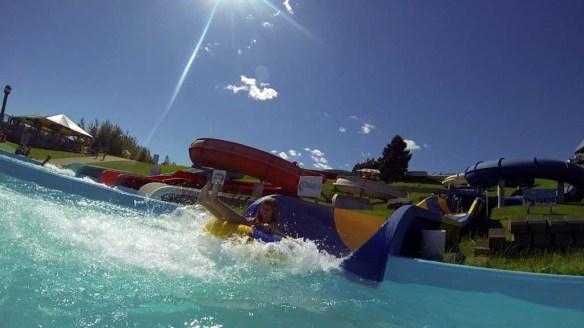 Tornado Water Slide, Magic Mountain