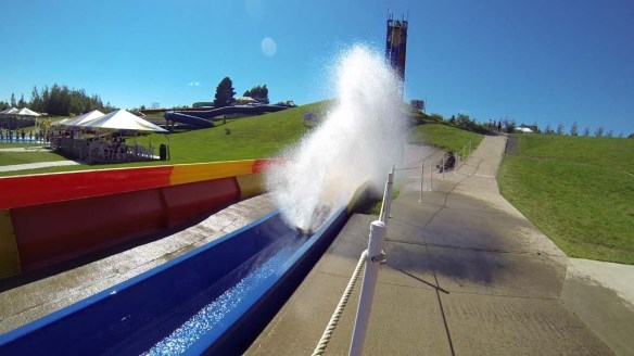 Water Slide, Magic Mountain