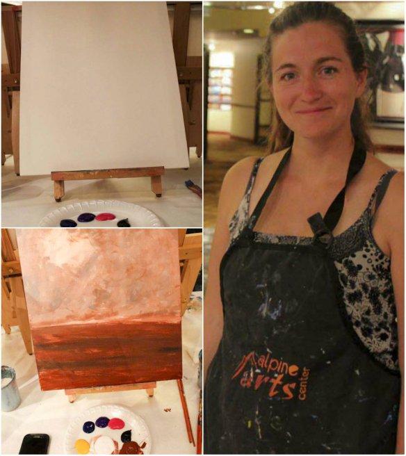Painting at Beaver Creek Lodge