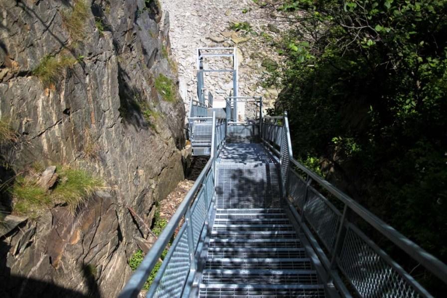 Steps at Cape Enrage, NB