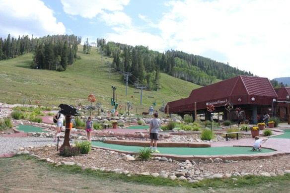 Mini Golf, Beaver Creek