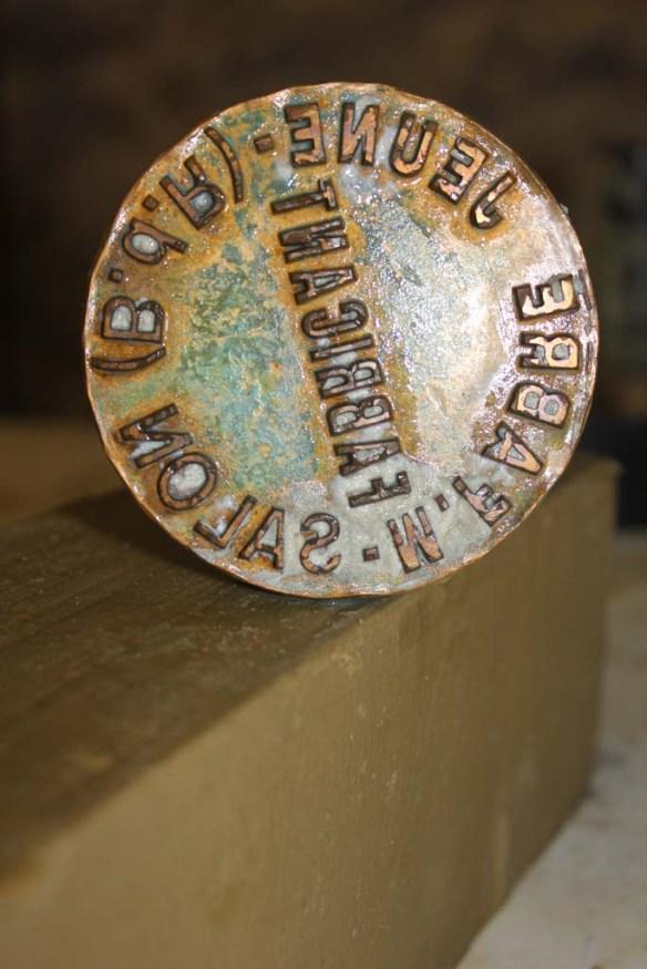 Marius Fabre Soap Stamp