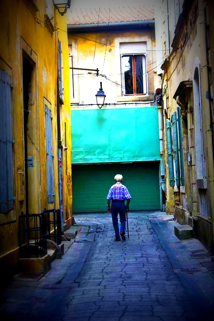 Old Man in Marseille, France