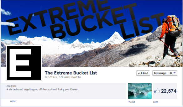 The Extreme Bucket List