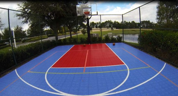 Basketball at Marriott's Harbour Lake
