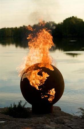 Fire Pit Art - Third Rock