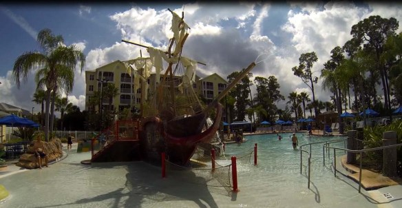Pirate Ship at Marriott's Harbour Lake