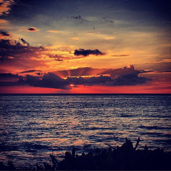 Sunset at Hilton Waikoloa Village