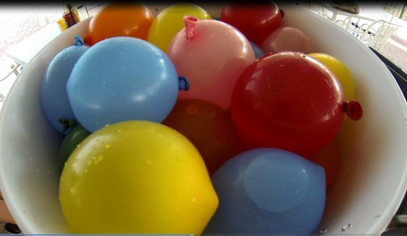 Water Balloons at Marriott's Harbour Lake