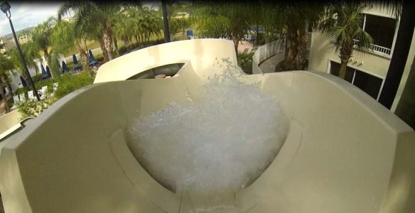 Water Slide, Marriott Vacation Club