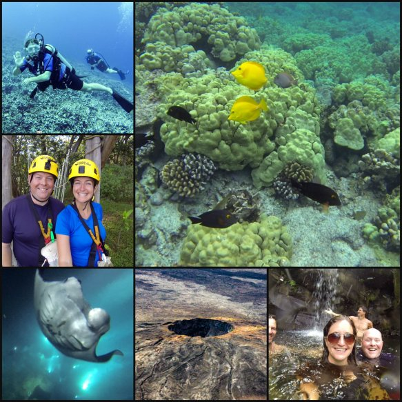 Hawaii Adventures Collage
