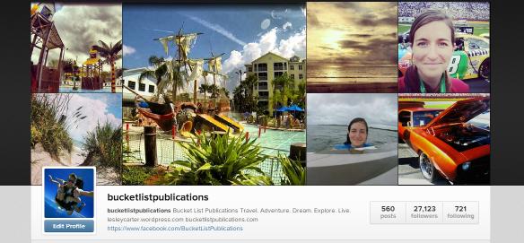 Bucket List Publications on Instagram