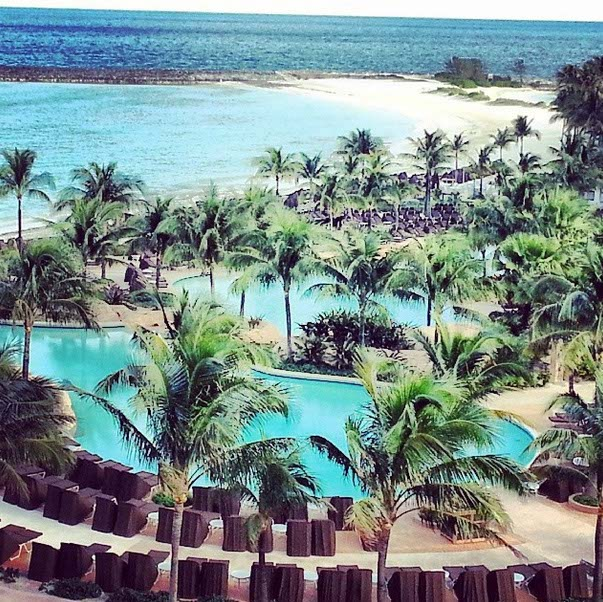 Our View from The Reef, Atlantis Bahamas