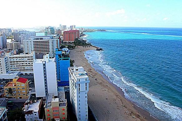 San Juan Marriott Executive Lounge Views