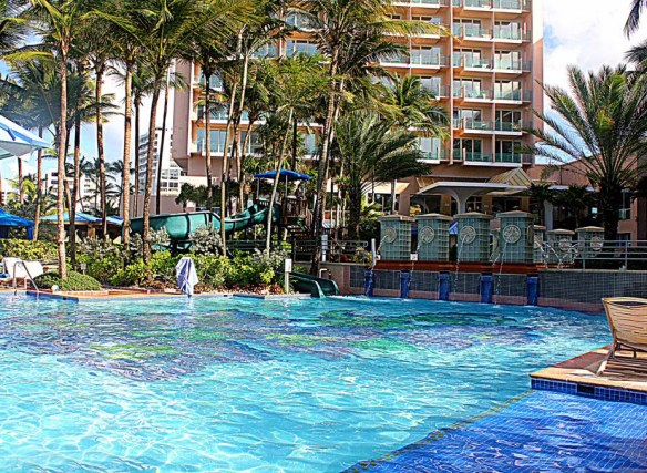 San Juan Marriott Pool