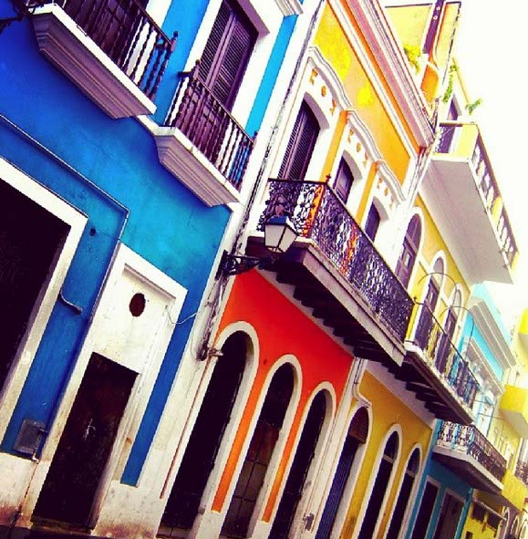 Old San Juan Buildings