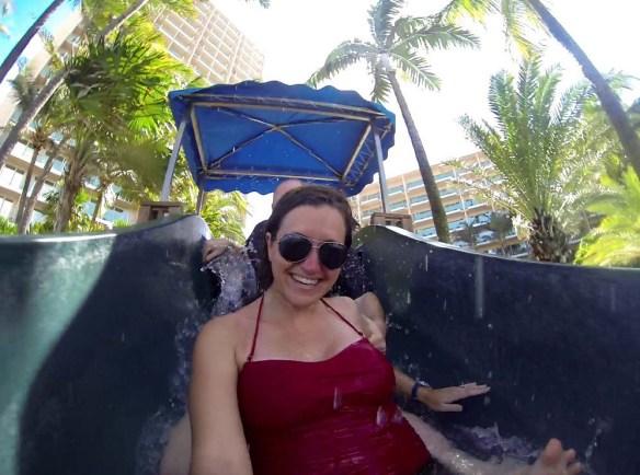 San Juan Marriott Water Slide