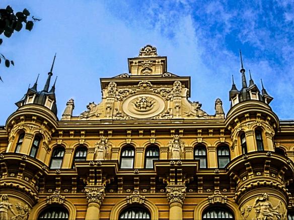 Art Nouveau Region, Riga, Latvia